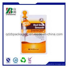 Plastische Gesichtsmaske Tasche für Kosmetikpackung mit kundenspezifischem Logo