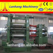 Machine à calandre à trois rouleaux en caoutchouc