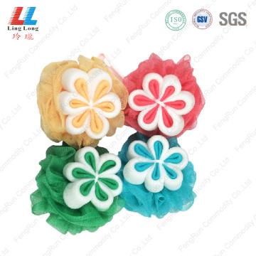 Foam Loofah Flower Sponge body konjac sponge