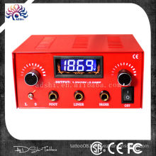 3A output 10 truns micro-turning LED digital dual tattoo power supply