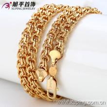Xuping moda 18k colar de cor de ouro (42286)