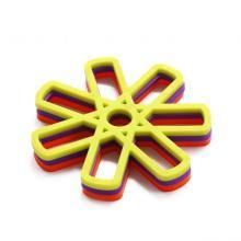3 Pcs Lace Flower Doilies Tapete de silicone