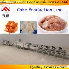 Linha de produção de lanches automáticos linha de produção de biscoito linha de produção de alimentos para animais