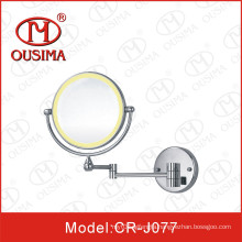 Double Sides Makeup Mirror Used in Bathroom