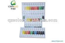 Acrylic color paint set