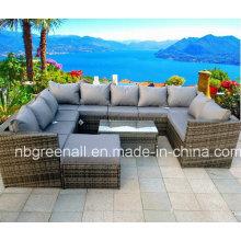 Садовая секционная плетеная мебель из ротанга