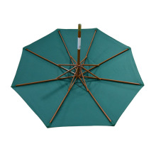 Large wooden treasure bali outdoor garden umbrellas