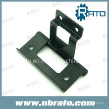 Black Paint Iron Bending Hardware Door Hinge