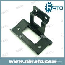 Black Painting Iron Dending Hardware dobradiça da porta