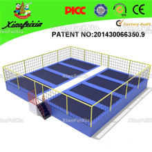 Competition Trampoline Mat with Ball Pool, Foam Pit