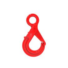 eye self-locking hook for lifting