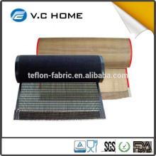 FDA LFGB Certificado Non Stick Malla De Grado Alimenticio PTFE recubierto de fibra de vidrio cinta transportadora