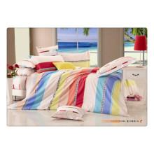 100 Baumwolle 40s 128 * 68 Luxus weichen hochwertigen Pigmentdruck Bettwäsche usa