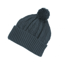 Custom Knit Jacquard Beanie Hat