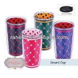 16oz double wall plastic smart cup