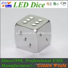 MCU control colorful LED Game dice