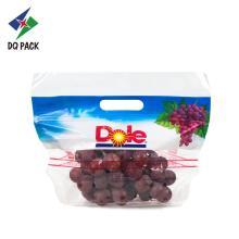 Пакет с фруктами и молнией