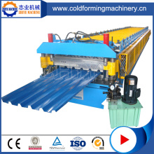 Fully Automatic Steel ZhiYe Metal Roof Glazed Tile Machine