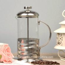 Prensa de café francesa de alta calidad en acero inoxidable