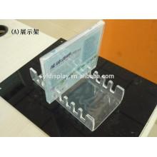 Transparent Horizontal Plastic Acrylic CD DVD Rack