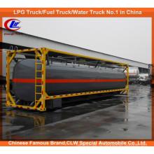 20-футовый контейнер для хранения жидких химических реагентов емкостью 40 футов