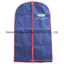 Personalizado impreso no tejido PP traje bolsa de ropa