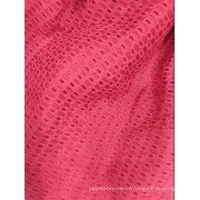 Tissu Jacquard tricoté à 100% de polyester