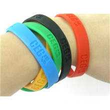 Eco Friendly Decorative Silicone Bracelet
