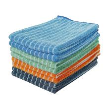 Салфетка из микрофибры, бамбуковая ткань, кухонная посуда, полотенца, чистка