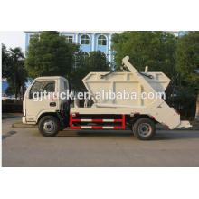 Camión de basura del compresor de Dongfeng Furuika 3CBM / compacto Camión de basura / camión del compresor / camión de basura / camión de basura del brazo basculante