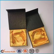 Armband Paper Box schwarz mit Satin-Futter