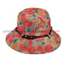 Beautiful Lady Bucket Cap / Hat, chapeau de disquette