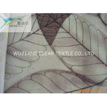 Druckstoff helle Polyester Organza Vorhang