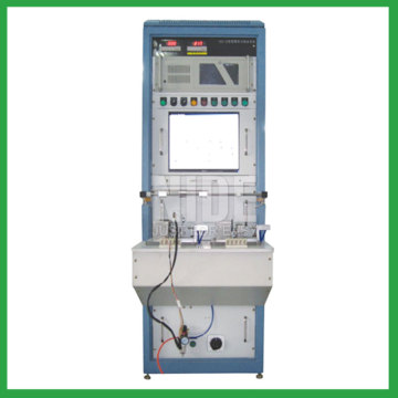 Pump motor stator performance testing machine
