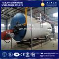 double drum wood flue steam boiler 5t/h