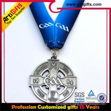 Medal manufacture processus lanyard ruban imprimante