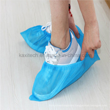 Disposable Environmental Shoe Cover Non-Woven PP Waterproof Anti-Skid Kxt-Sc35