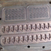 Präzisions-Kompressions-Silikon-Gummi-Formwerkzeug für Siegel