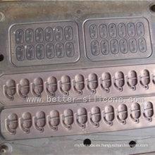 Herramienta compresiva del molde de goma del silicón de la precisión para el sello
