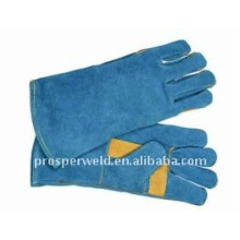 Long Leather Insulated MIG Welding Gloves