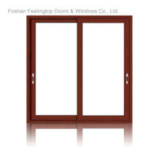 Коммерческие Двойное Застекленное окно терморазрывом алюминиевые раздвижные (М-W85)