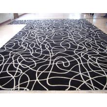 Alfombra de alta calidad con tapizado a mano