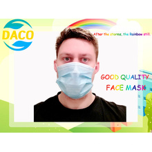 3ply Earloop Surgical Face Mouth Mask Disposable Face Mask for Civil Use Facemask