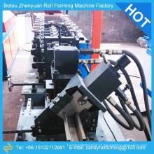 Máquina de armação de perno e trilho, máquina de formação de rolo de truss, máquina de raio de aço