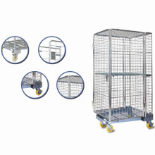 Large Capacity Metal Roll Wire Container for Storage by Yuanda Commercial Equipments