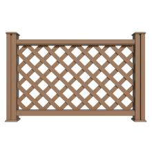 New generation outdoor plastic deck railing