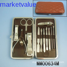 Luxurious 13pc Finger / Toe Nail Manicure Pedicure Tools Set / Kit