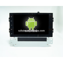 Quad core! Dvd do carro com ligação espelho / DVR / TPMS / OBD2 para 8 polegada tela sensível ao toque quad core 4.4 sistema Android PEUGEOT 308S