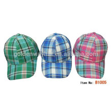 kids promotional 6 panel baseball cap