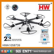 2.4G Quadcopter с 6-осевой подсвеченной летающей тарелкой с жидкокристаллическим гироскопом